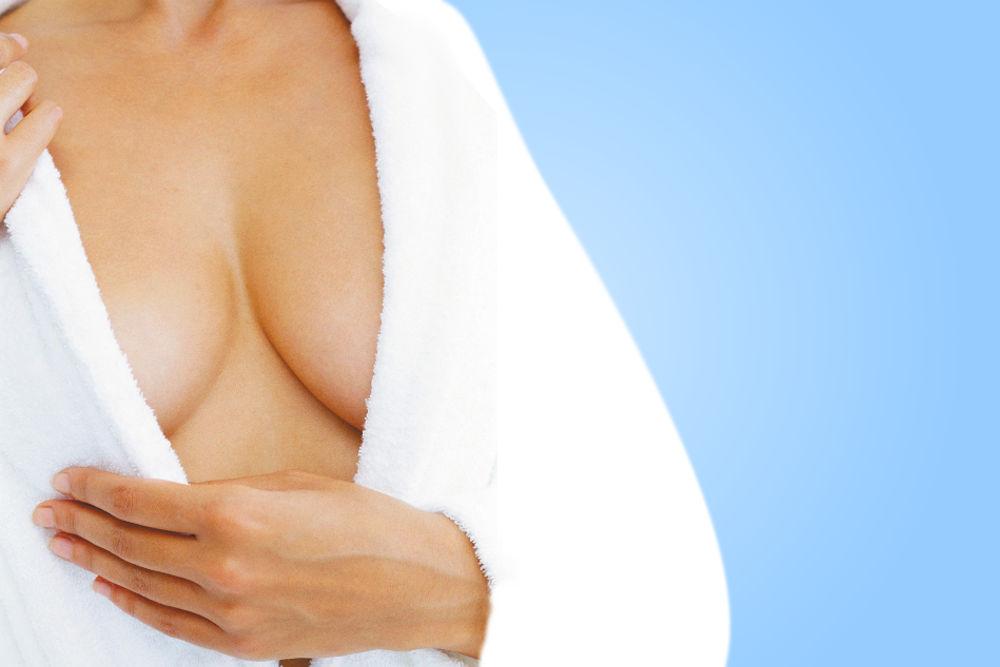 plucking breast hair